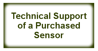 Technical Support of a Purchased Sensor