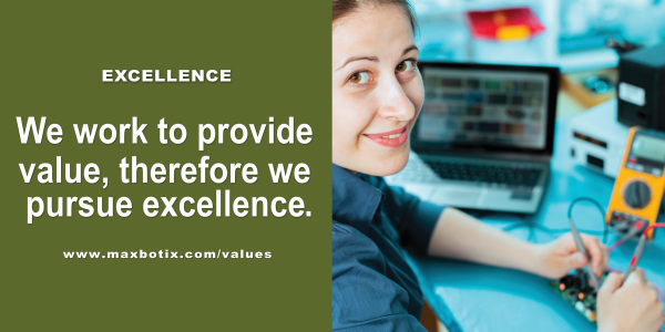 Value Statement: Excellence